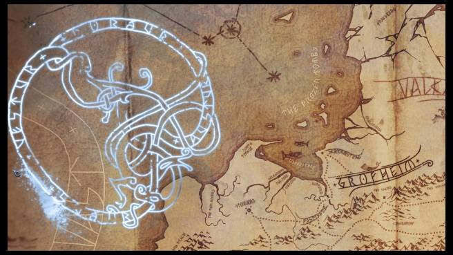 Rune compass